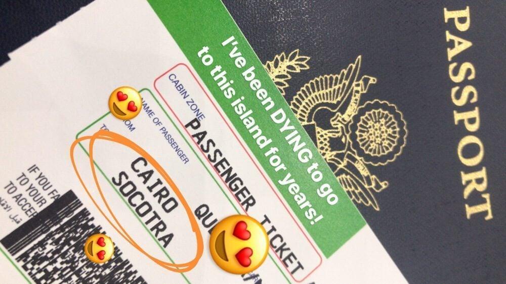 Yemenia plane ticket