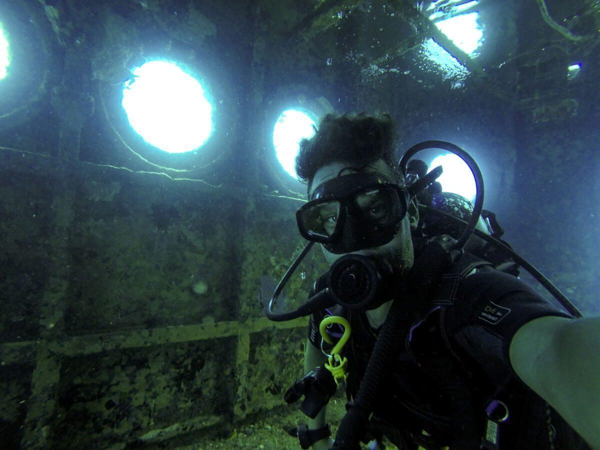 C-53 Bridge - Diving in Cozumel