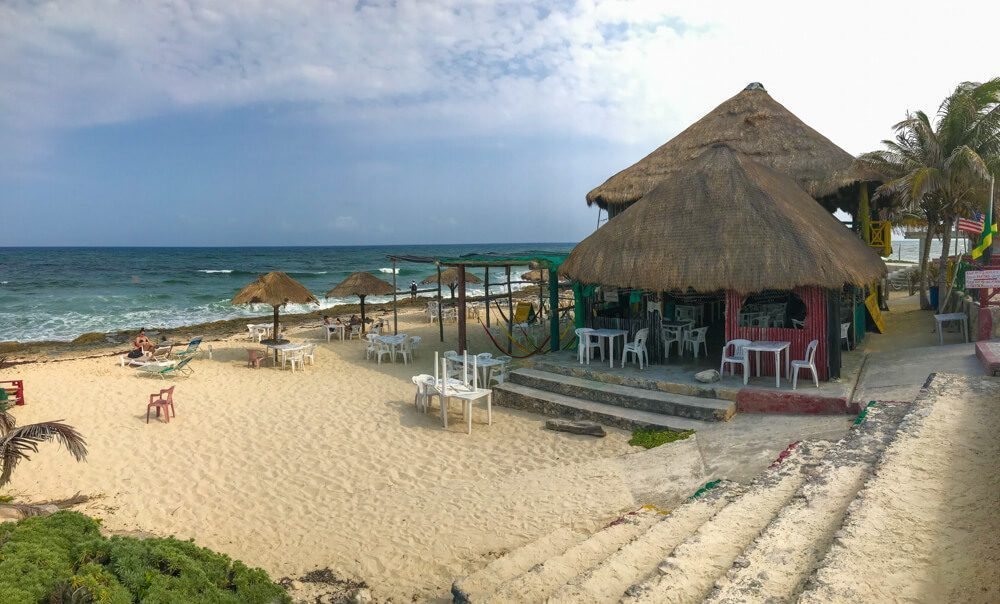 Cozumel, Mexico. Reggae Bar