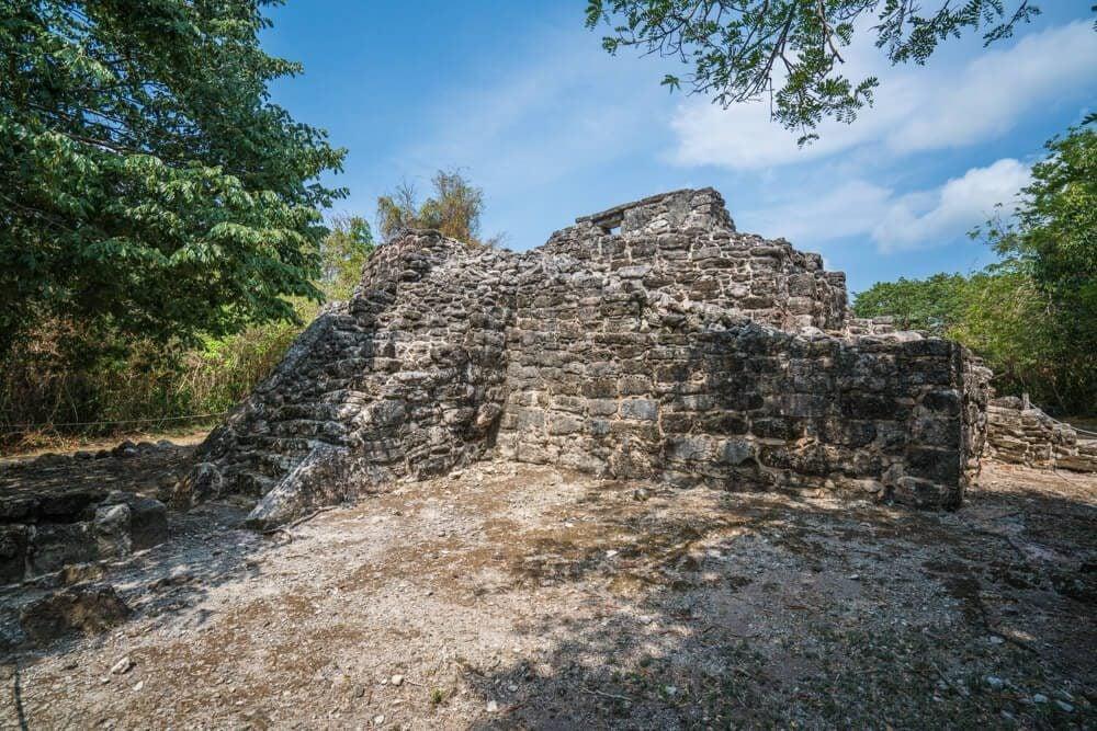 Cozumel, Mexico. San Gervasio Mayan Ruins