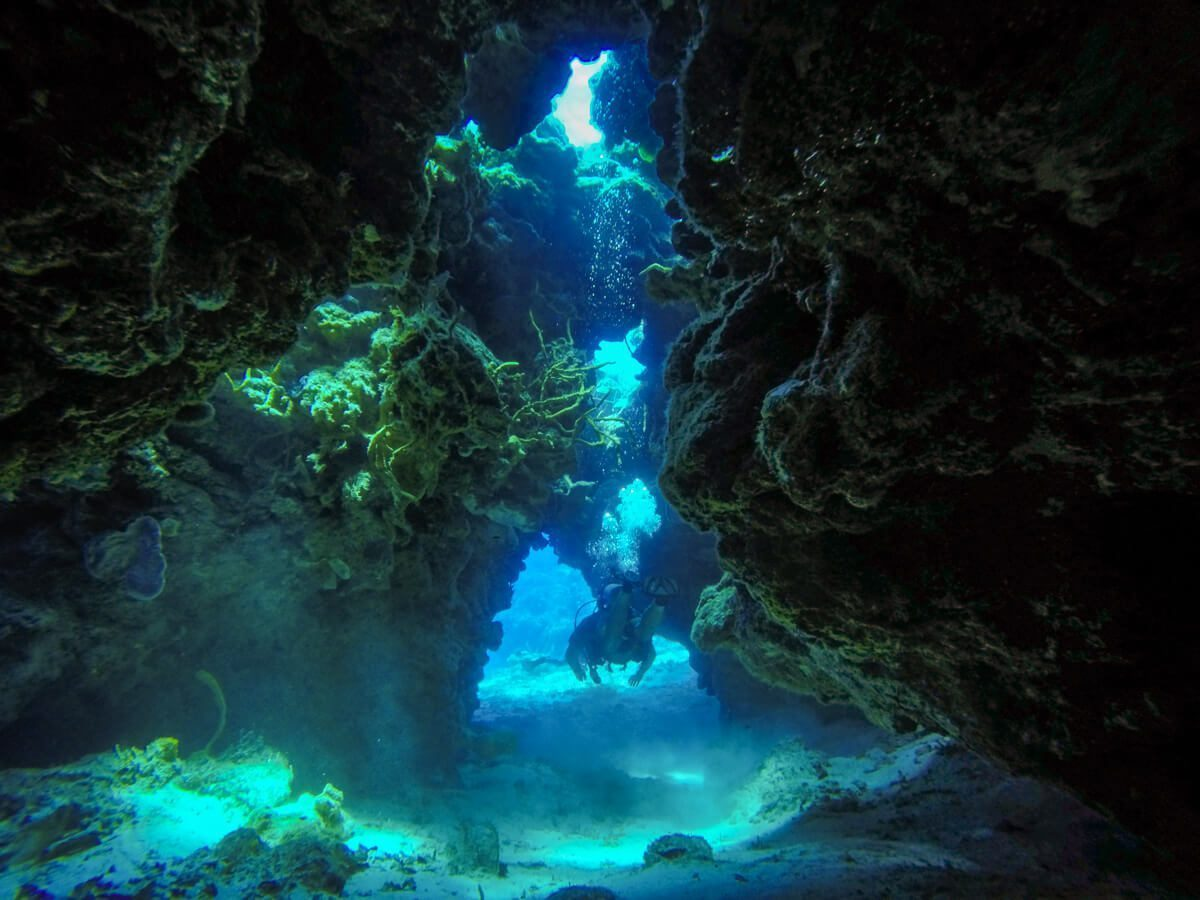 Palancar Caves - Diving in Cozumel
