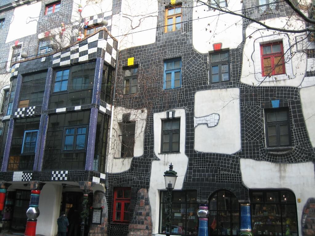 Hundertwasser in Vienna, Austria