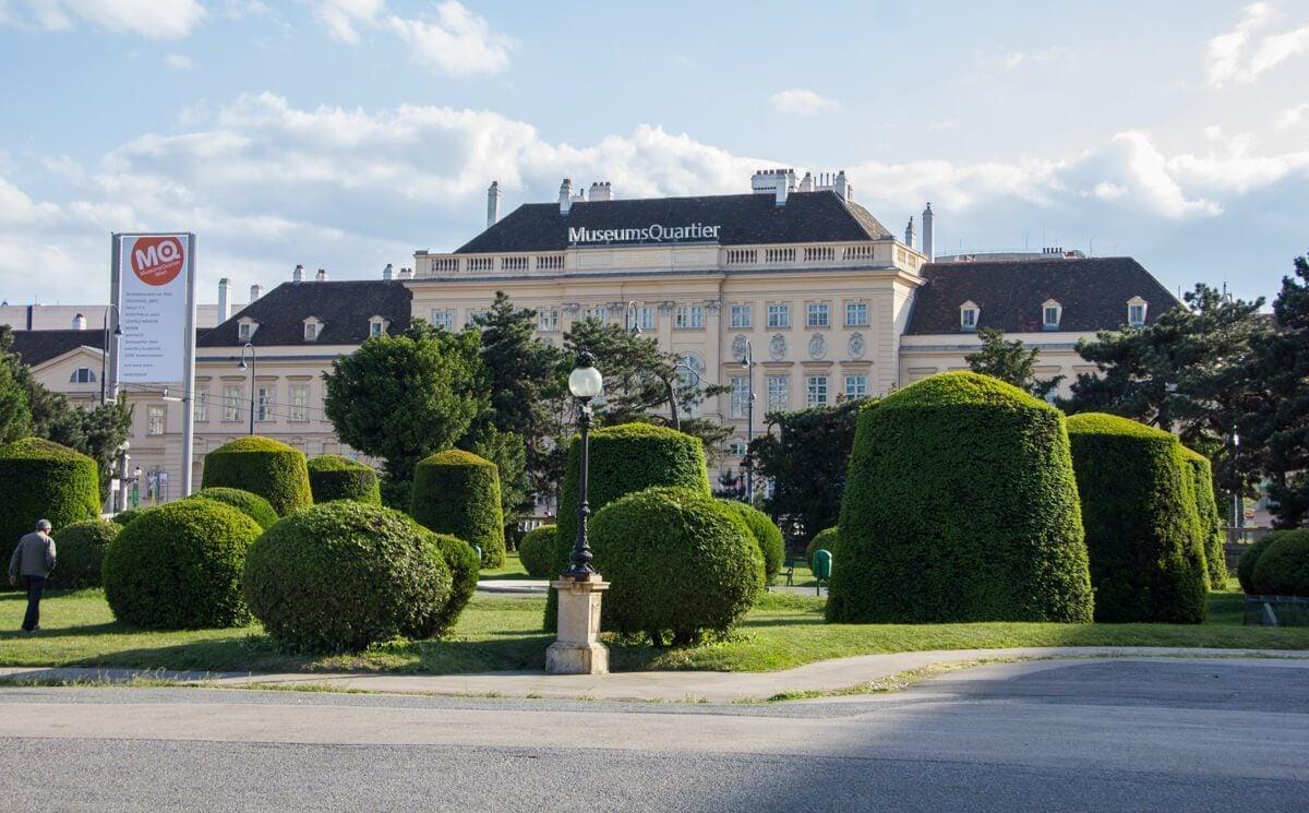 MuseumQuarter in Vienna, Austria