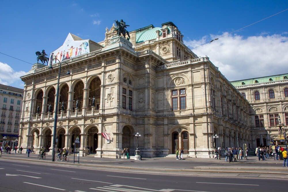 The Opera in Vienna, Austria