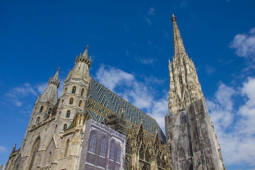 St Stephen's Cathedral in Vienna, Austria