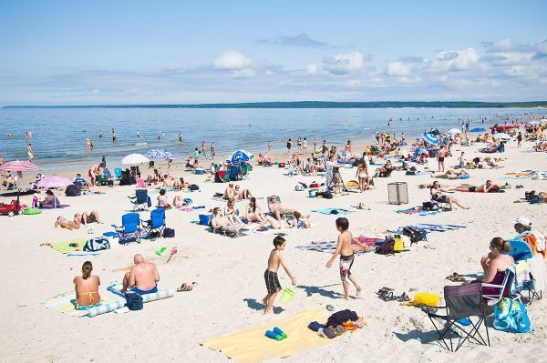 Grand Beach in Manitoba, Canada