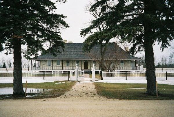Lower Fort Garry in Manitoba, Canada