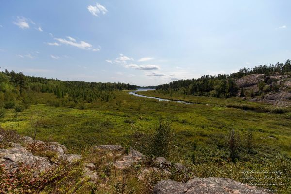 McGillivray Trail at the Whiteshell Provincial Park, Manitoba, Canada