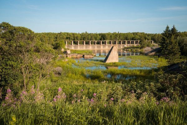 Pinawa Dam at the Whiteshell Provincial Park, Manitoba, Canada