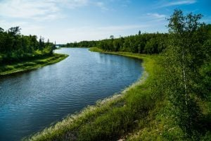 The Whiteshell River at the Whiteshell Provincial Park, Manitoba, Canada