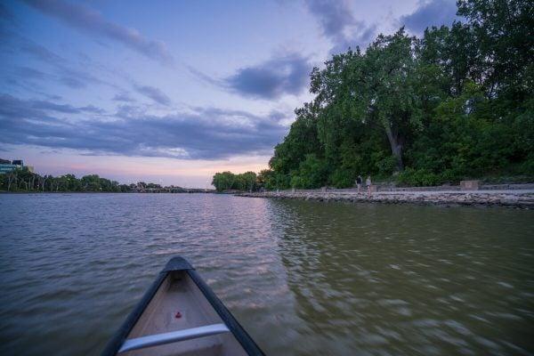 Assiniboine Canoeing