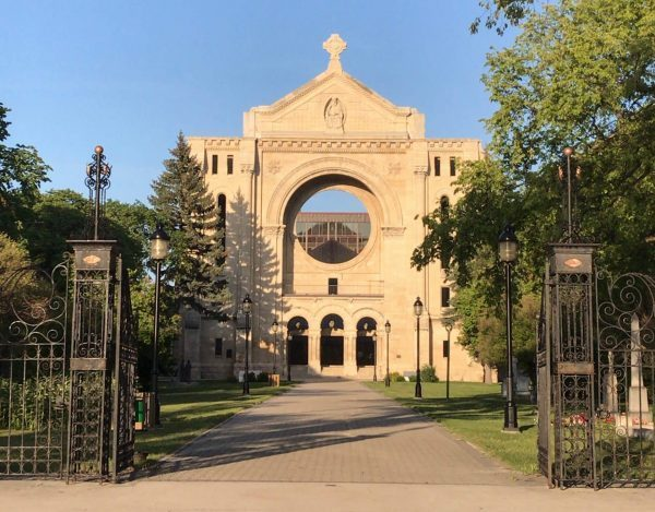 Winnipeg St Boniface Cathedral