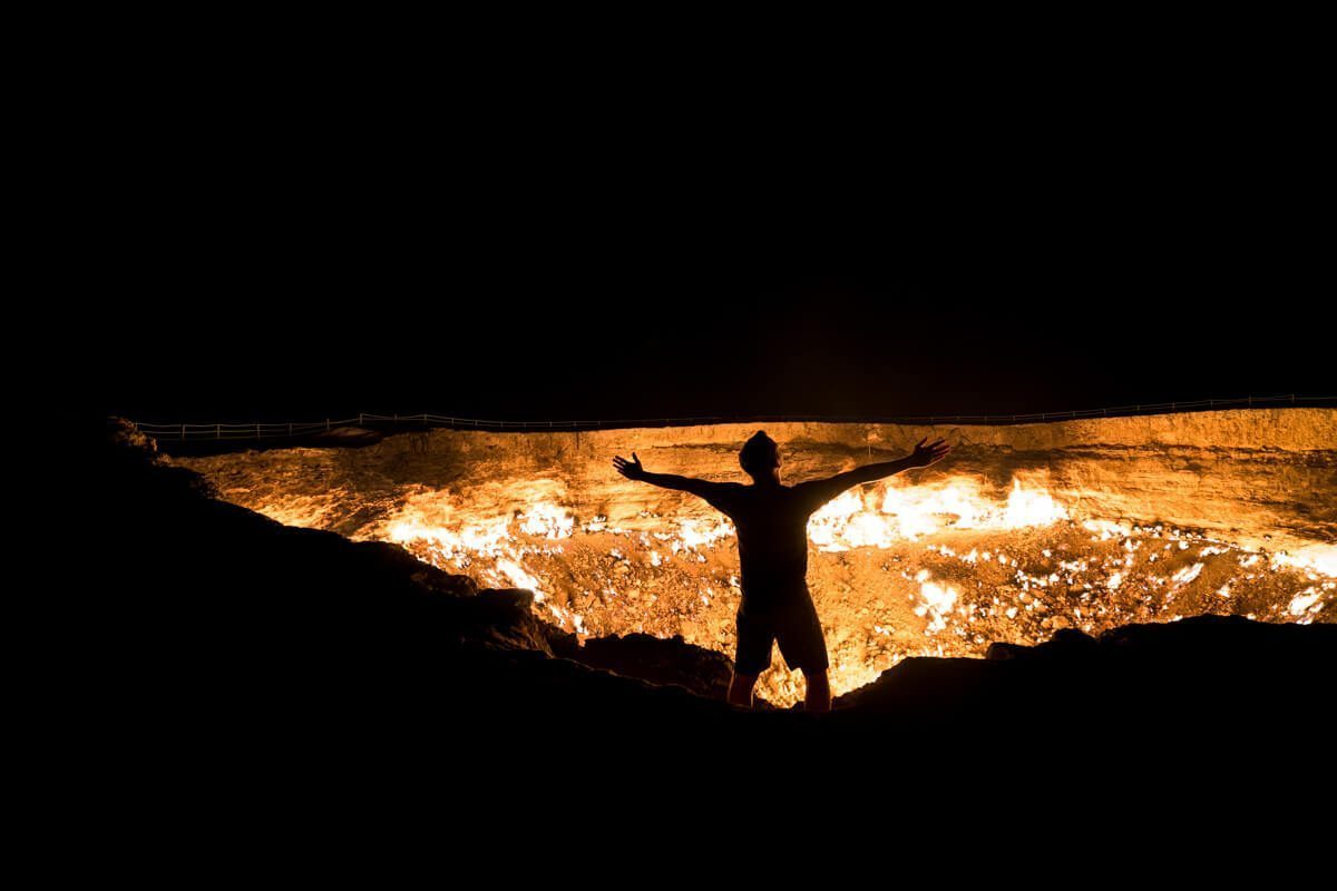 Norbert at the Gates of Hell, Turkmenistan