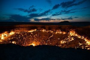 Gates of Hell Sunrise, Turkmenistan