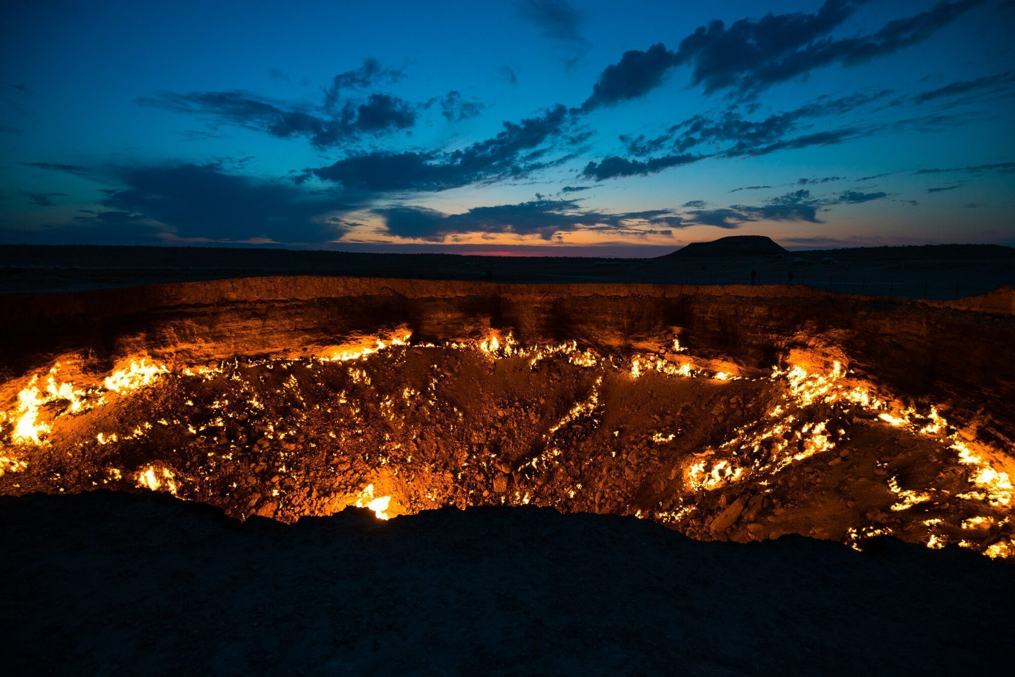 Gates of Hell Sunrise, Turkmenistan