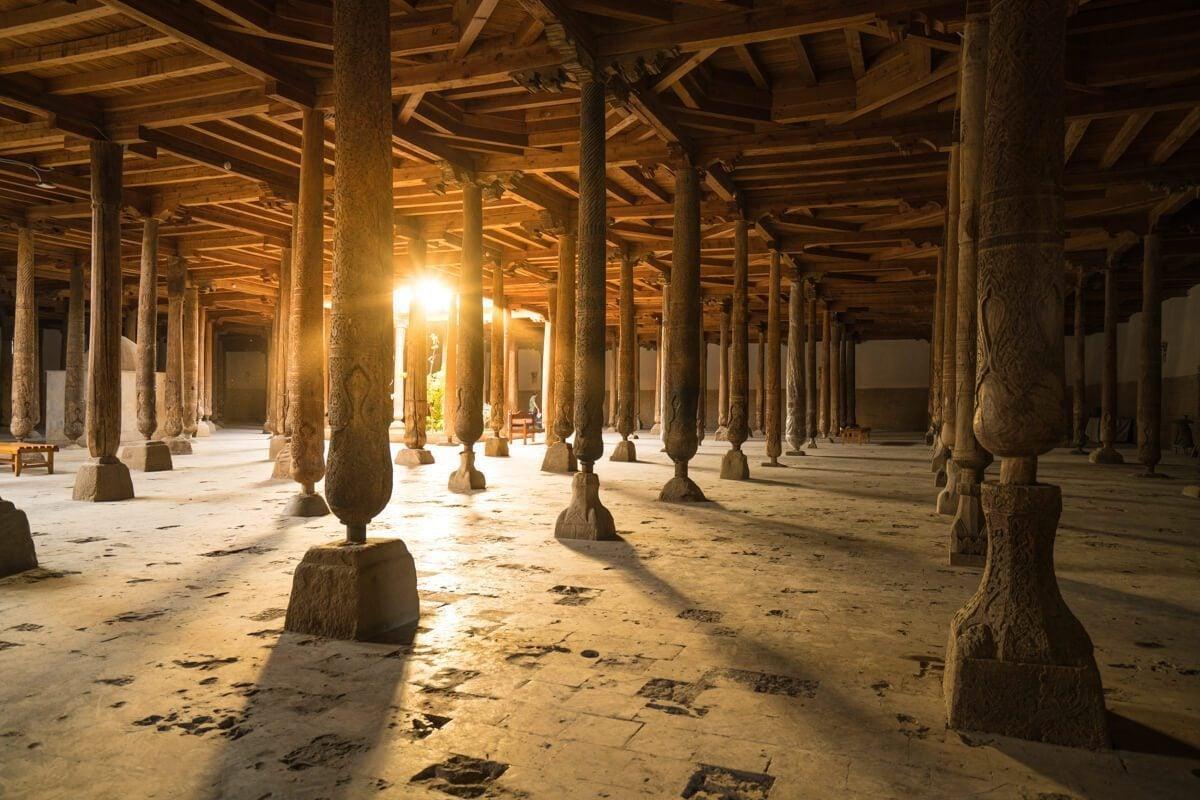 Juma Mosque in Khiva, Uzbekistan