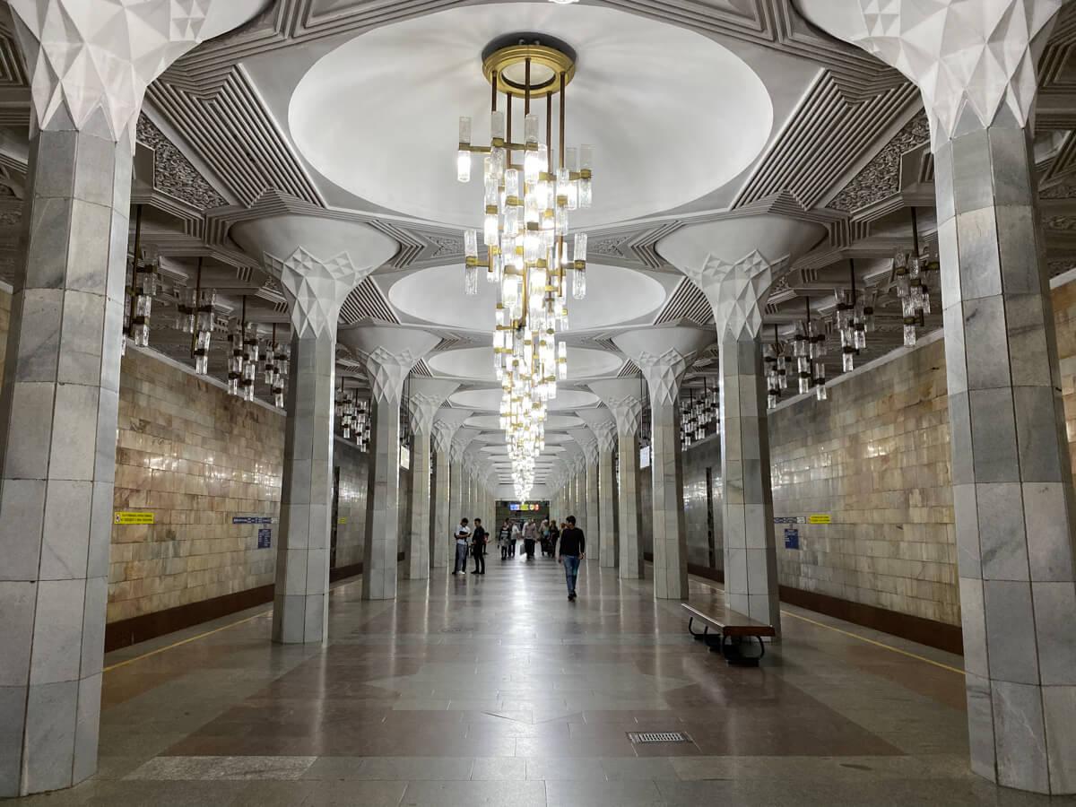 Tashkent Metro, Uzbekistan