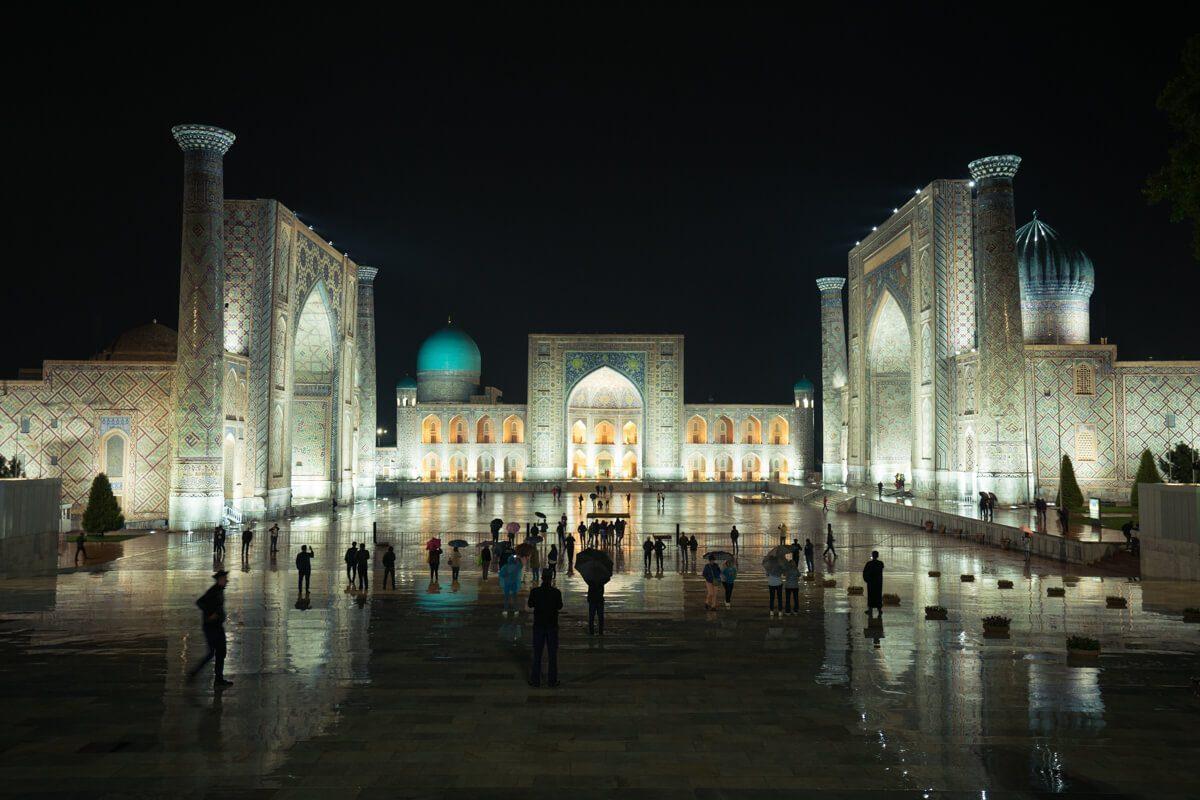 Registan in Samarkand, Uzbekistan