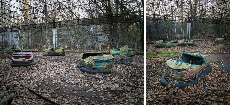 Pripyat's Amusement Park Bumper Cars