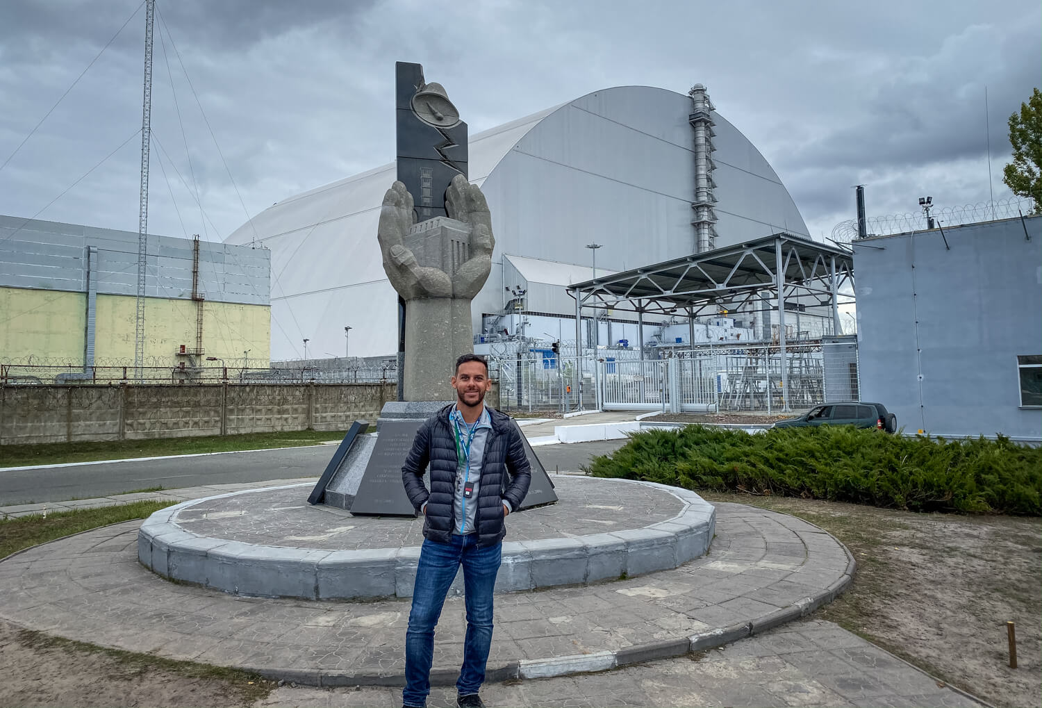 The Arch over Reactor #4 Chernobyl