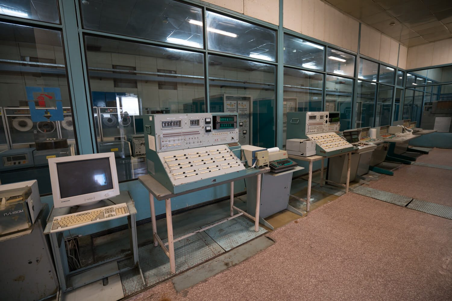 The Computer Room in Chernobyl.