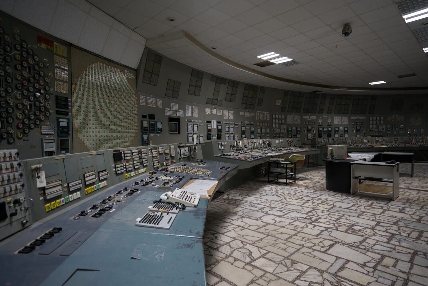 The Control Room at Reactor #3 Chernobyl