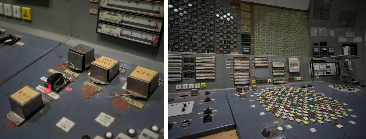 The Control Room Chernobyl