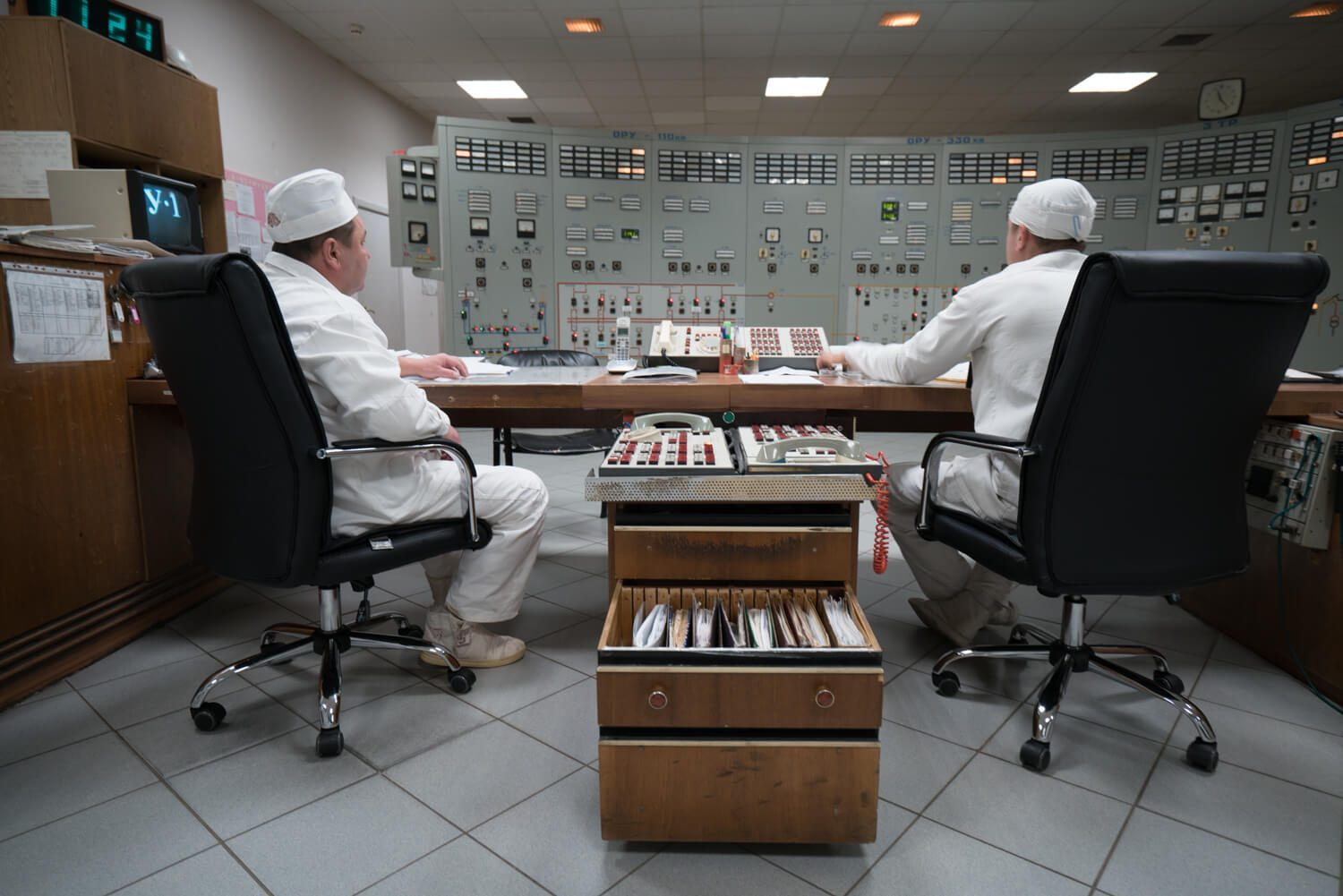 Monitoring the energy in Chernobyl
