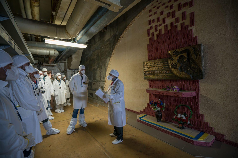 Valery's Memorial in Chernobyl