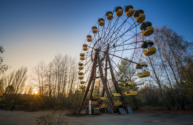 Chernobyl Ferris Wheel in Pripyat