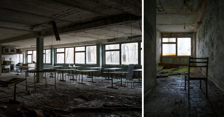 Pripyat Elementary School Interiors