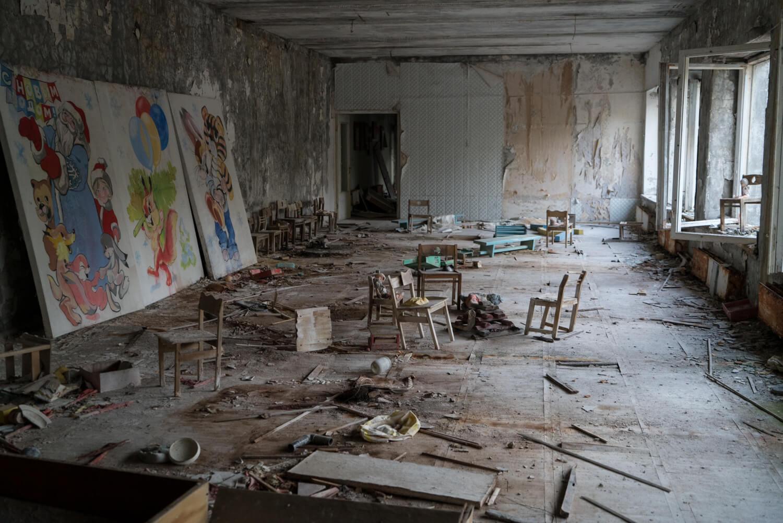 Pripyat's Kindergarten Interior