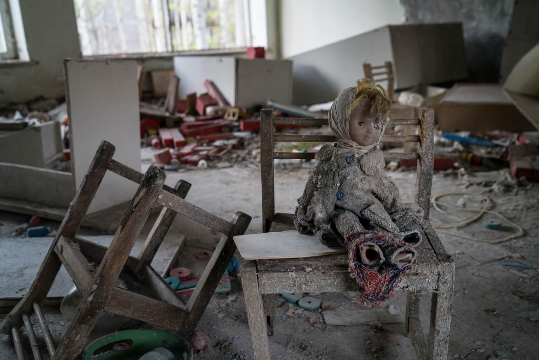 Doll at Pripyat Kindergarten