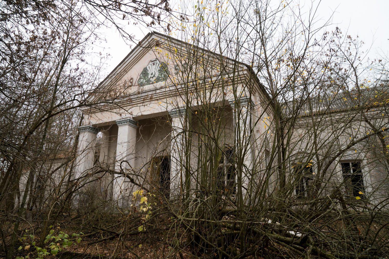 Chernobyl Zalissya Cultural Center Building