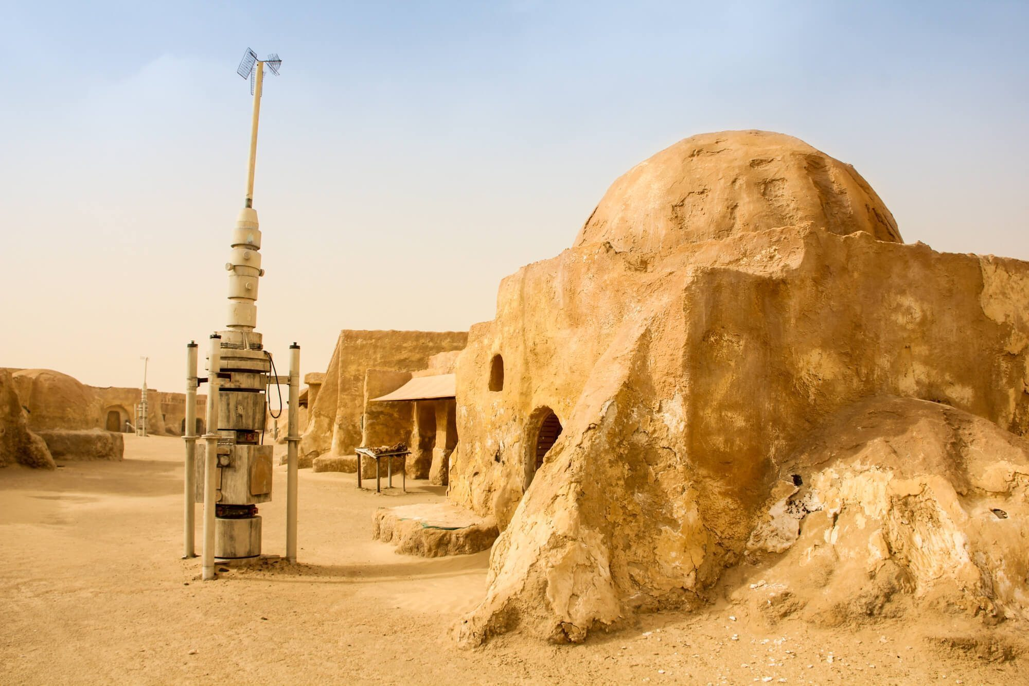 Star Wars Mos Espa Set in Tunisia