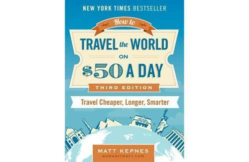 Nomadic Matt Travel for $50 a day book