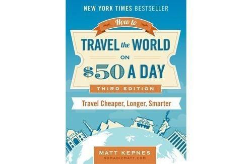 Nomadic Matt Travel for $50 a day book