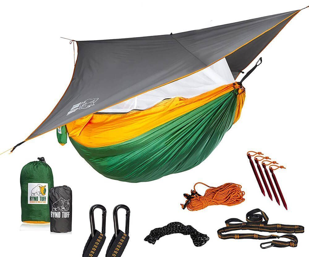 RynoTuff Portable Hammock for Camping