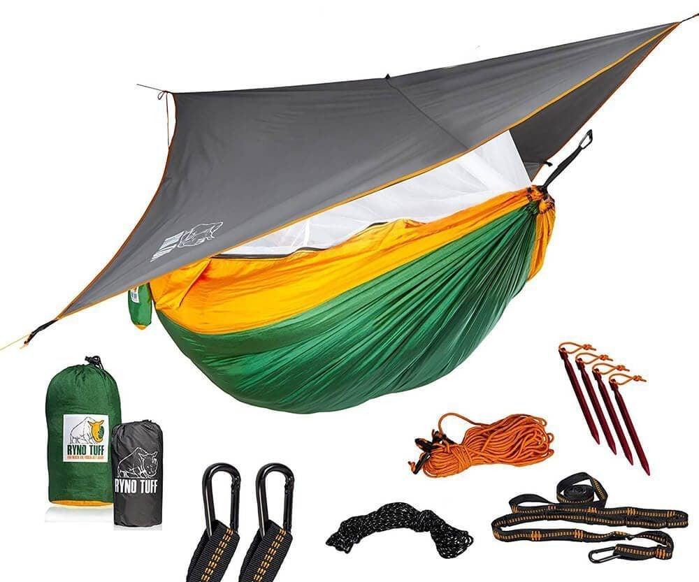 RynoTuff Portable Hammock for Camping