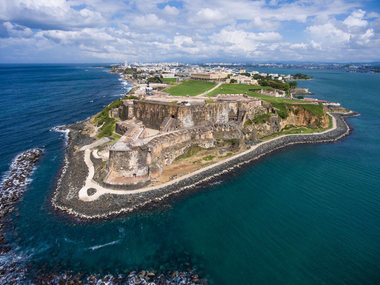 El Morro Aerial, San Juan, Puerto Rico