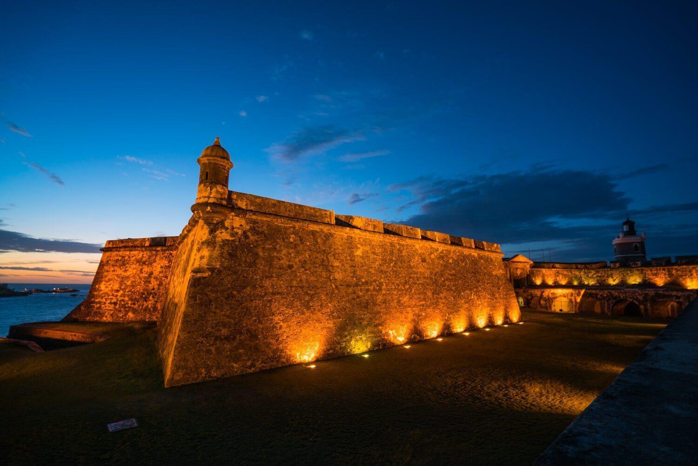 El Morro Sunset, San Juan, Puerto Rico