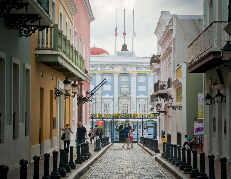 La Fortaleza in San Juan, Puerto Rico