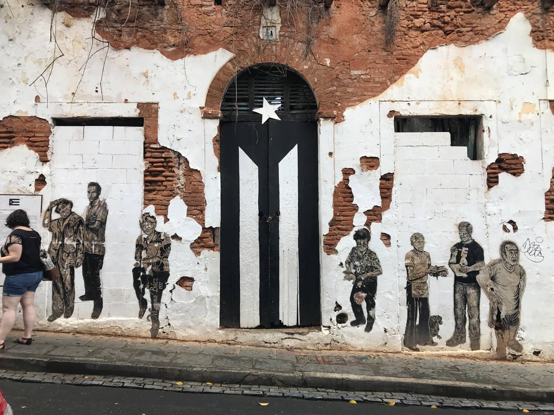 Puerta de la Bandera, San Juan, Puerto Rico