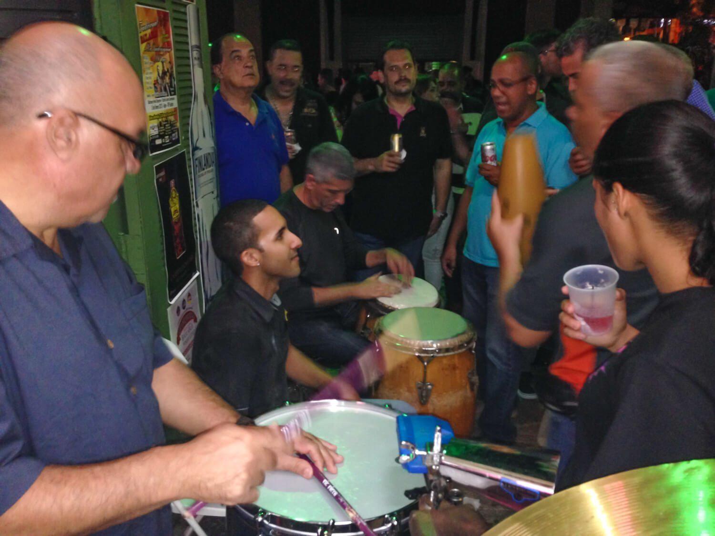 Playing Salsa, San Juan, Puerto Rico