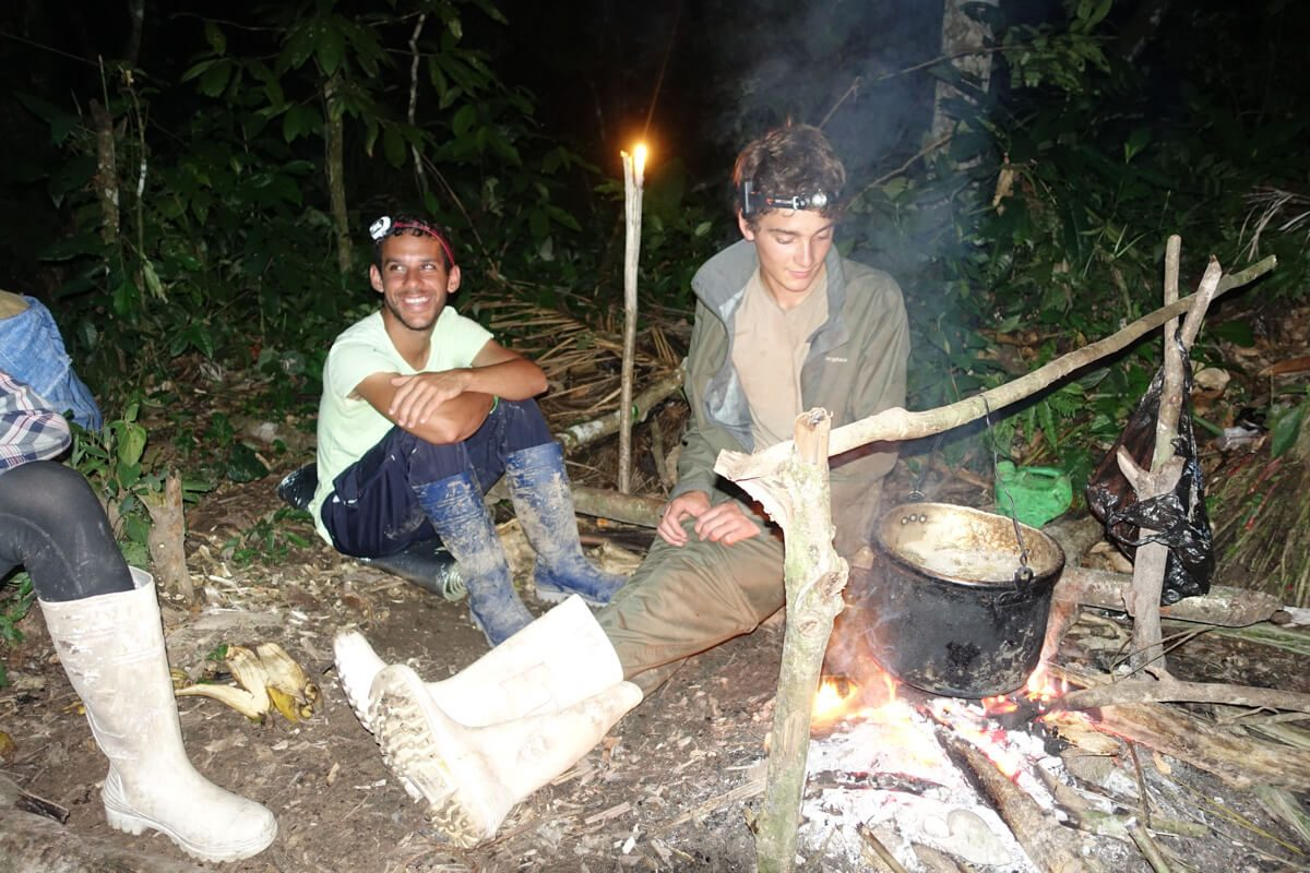 Cooking in the Amazon Jungle