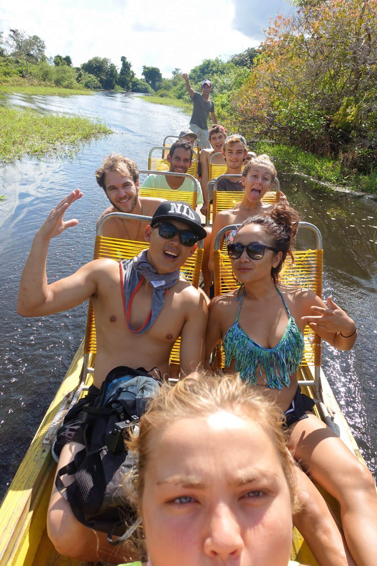 Amazon Pampas boat