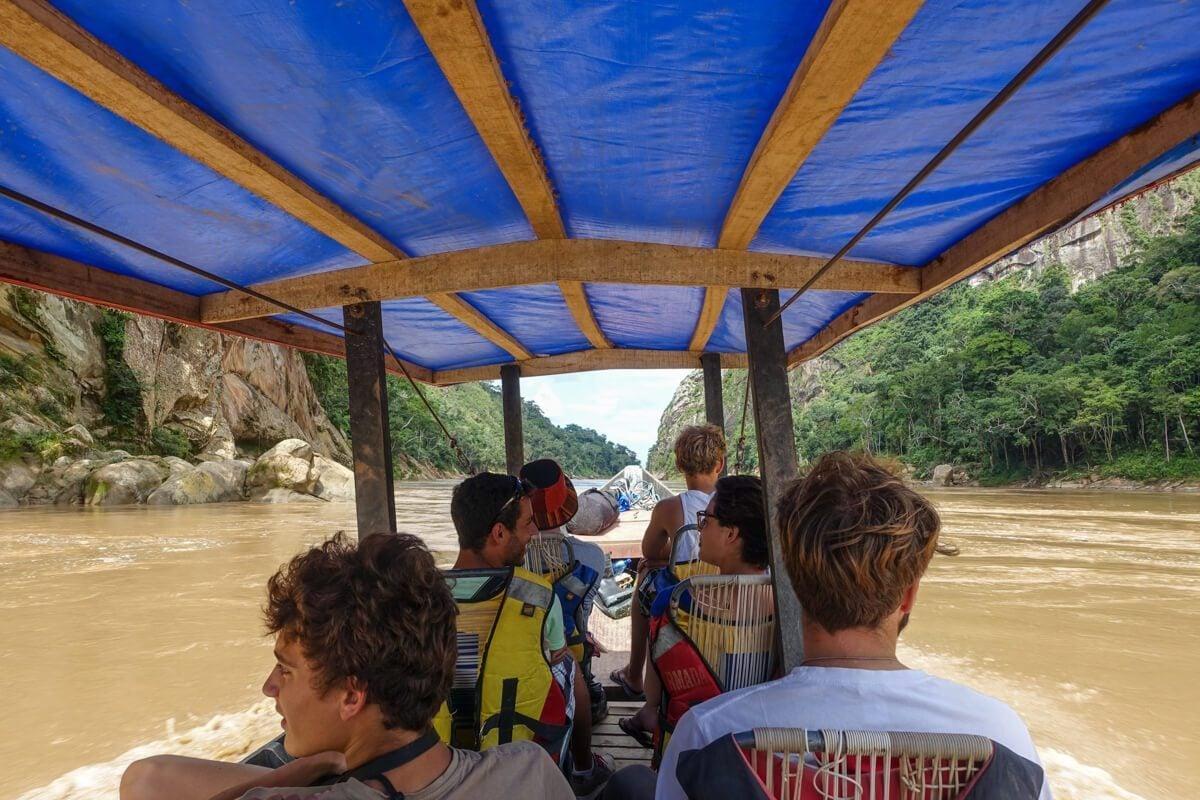 Beni river boat