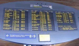 Flight Board Cancellation