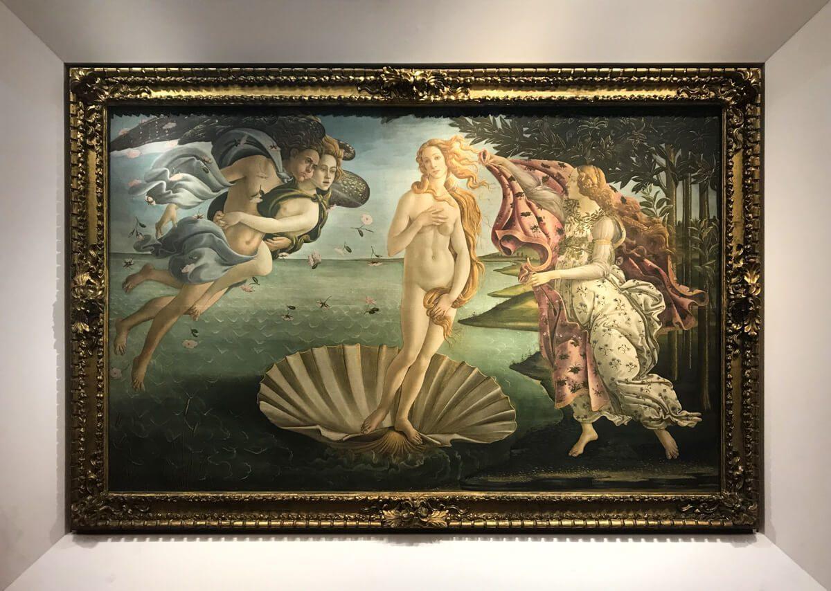 The Venus de Milo at the Uffizi, Florence