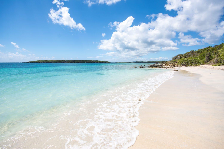 Beach in Vieques, Puerto Rico